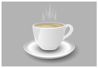 cup of coffee vector design