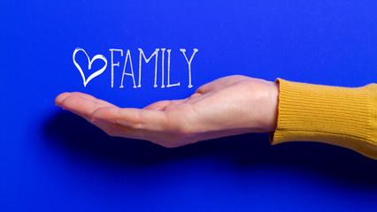 family care concept internet