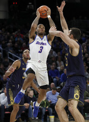 NCAA Basketball: Notre Dame at DePaul
