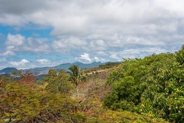 View of the Cuban landscape, Trinidad, Sancti Spiritus, Cuba. Copy space for text.