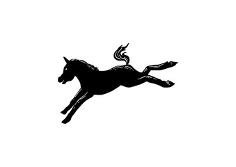 Mule Kick Isolated