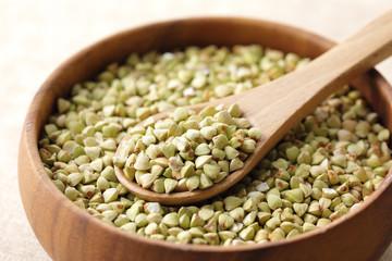 蕎麦の実 Buckwheat seeds