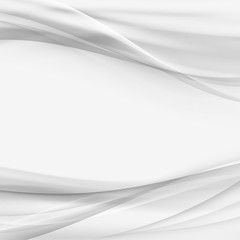 Graphic abstract gradient swoosh border elegant wave grey background