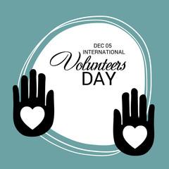 International Volunteers Day.