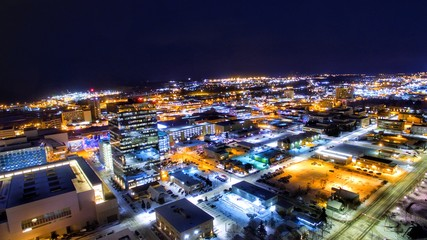 Anchorage Alaska Night Photos Nov 17