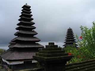 Templo en Bali, isla de Indonesia en Asia