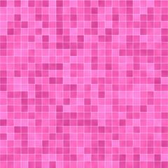 Illustration of pink tile pattern