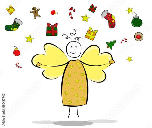 Christkind Bilder Weihnachten.Christkind Bzw Weihnachts Engel Stockfotos Und Lizenzfreie