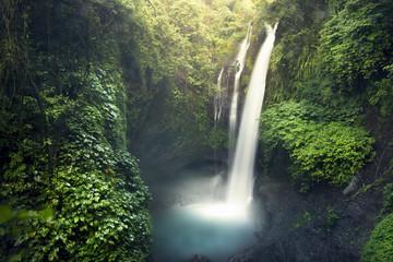 Deurstickers Watervallen Aling aling waterfall
