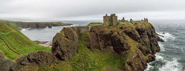 Dunnottar Castle Panorama
