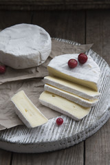camembert cheese and cranberry
