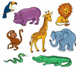 Afriсan animals set
