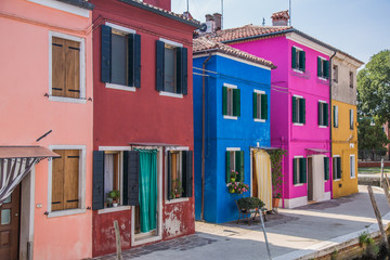 Murano and Burano in Italy