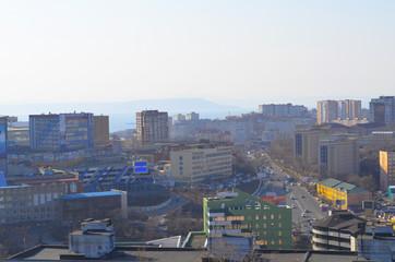 Владивосток, вид на город