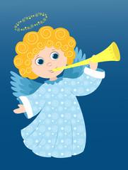 Christmas angel plays