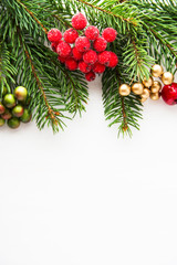 Christmas and New Year holiday background. Xmas greeting card