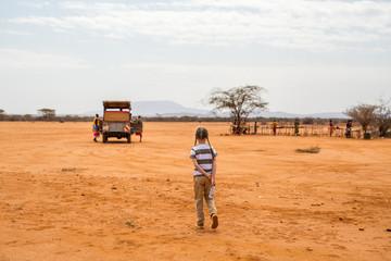 Little girl in Africa