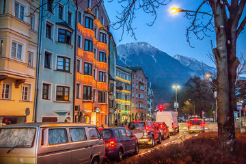 Street of Innsbruck