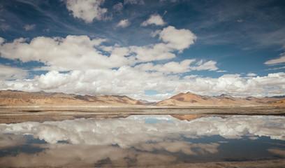 Tso Kar Lake landscape