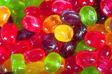 background from colorful  sweets of sugar candies