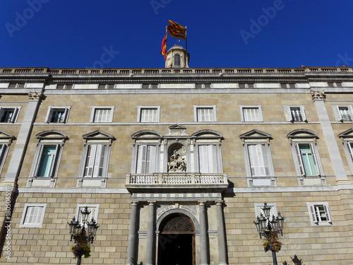Palau De La Generalitat De Catalunya Barcelona Stock Photo And