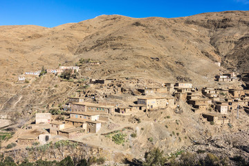 Small village in the High Atlas mountains, Morocco