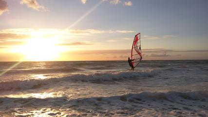 romantic windsurfing
