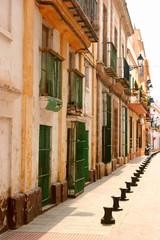 Calle en Puerto de Santa Maria, Cadiz (España)