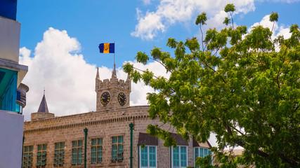 The parliament at Bridgetown, Barbados.