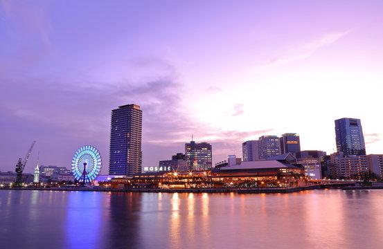Kobe night view