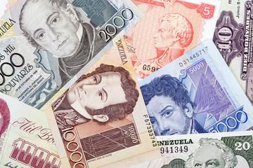 Venezuelan Bolivares, a background