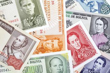 Bolivian Pesos, a background