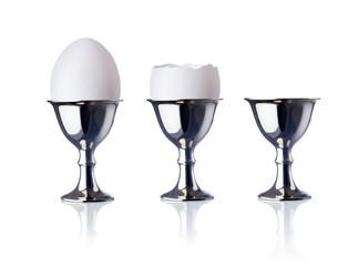 eggcup, isolated