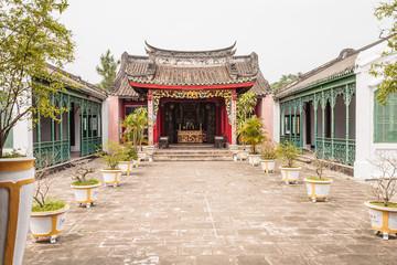 Hoi-An Vietnam, Chineese tempel