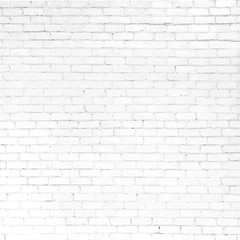 Abstract White Brick Background