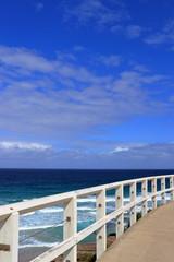 View from Tamarama beach, Sydney coastal walk from Bondi to Coogee