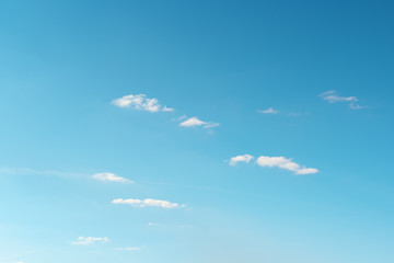 Wall Mural - white cloud on sky