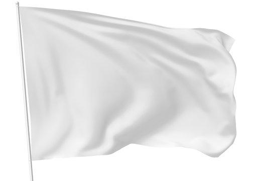 White flag on flagpole