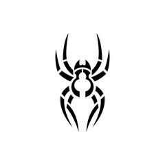simple tattoo, spider design