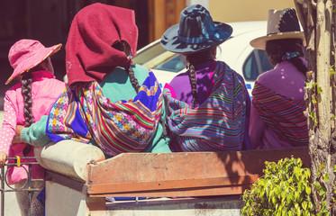 Printed kitchen splashbacks South America Country Peruvian people