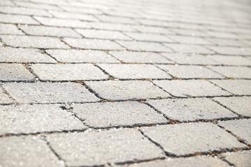 Stone floor view