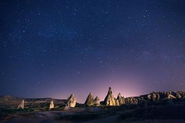 Night sky in Turkey