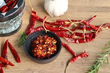 chili paste with garlic