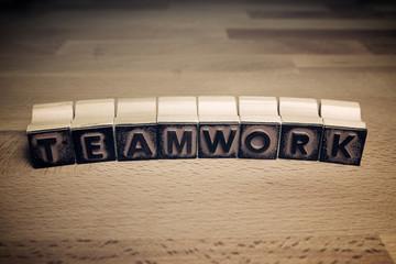 Teamwork concept view