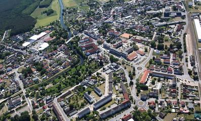 Torglow, Stadtzentrum
