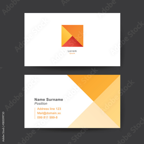 Vector Business Card Template Stock Image And Royaltyfree - Free vector business card templates