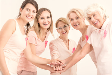 Breast cancer unity and friendship