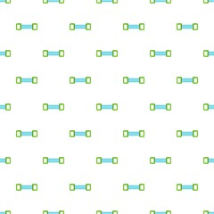 Spring expander pattern, cartoon style