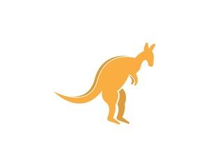 Kangaroo logo design template