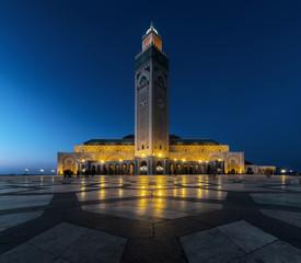 Blaue Stunde - Hassan II Moschee - Casablanca